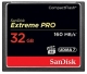 32GB CompactFlash Sandisk Extreme Pro 160MB/s SDCFXPS-032G-X46