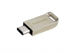Transcend TS64GJF850S, 64GB JetFlash 850, Silver Plating, Type-C
