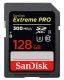 128GB SDXC Card Sandisk Extreme Pro UHS-II 300MB/s read-260MB/s write SDSDXPK-128G-GN4IN