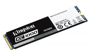 KingstonSKC1000/960G, 960GB KC1000 PCIe Gen3 x 4, NVMe (M.2 2280)