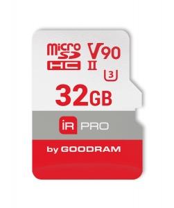 GoodRamIRP-M9BA-0320R11, 32GB MICRO SD CARD IRDM PRO pSLC UHS II U3 V90