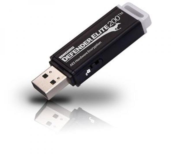 16GB Defender Elite200 Encrypted USB 2.0 Zwart