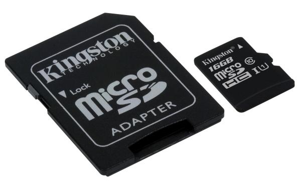 SDCS/16GB microSDHC 16GB