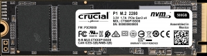 CrucialCT500P1SSD8, Crucial P1 500GB 3D NAND NVMe PCIe M.2 SSD