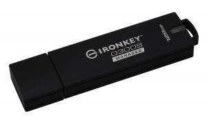 KingstonIKD300SM/128GB, 128GB D300SM AES 256 XTS Encrypted USB Drive