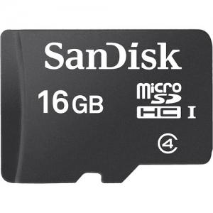 Sandisk16GB MicroSDHC Card Sandisk w/o Adapter SDSDQM-016G-B35