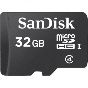 Sandisk 32GB MicroSDHC Card Sandisk w/o Adapter SDSDQM032GB35