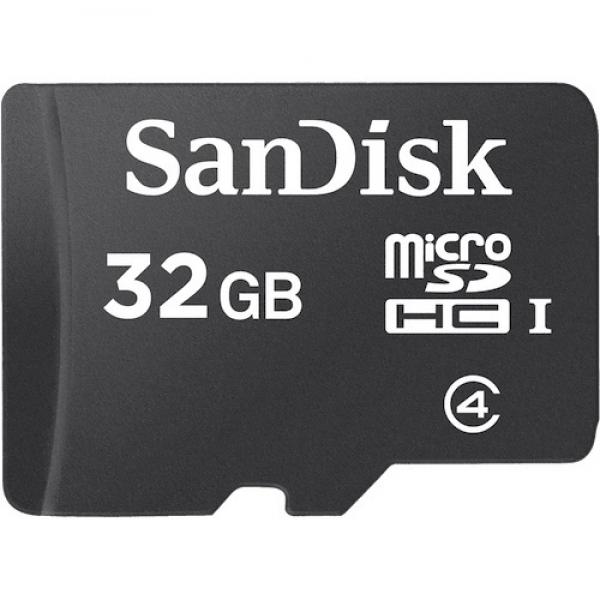 32GB MicroSDHC Card Sandisk w/o Adapter SDSDQM-032G-B35