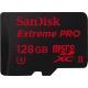 128GB MicroSDXC Sandisk Extreme Pro UHS-II U3 275MB/s read 100MB/s write SDSQXPJ-128G-GN6M3