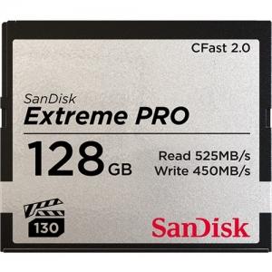 Sandisk128GB CFast 20 Sandisk Extreme Pro 525MB/s SDCFSP128GG46D