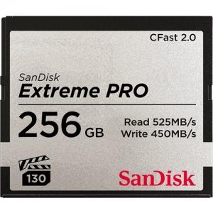 Sandisk256GB CFast 2.0 Sandisk Extreme Pro 525MB/s SDCFSP-256G-G46D