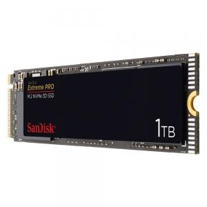 Sandisk1TB SSD Sandisk Extreme Pro M.2 NVMe 3D SDSSDXPM2-1T00-G25
