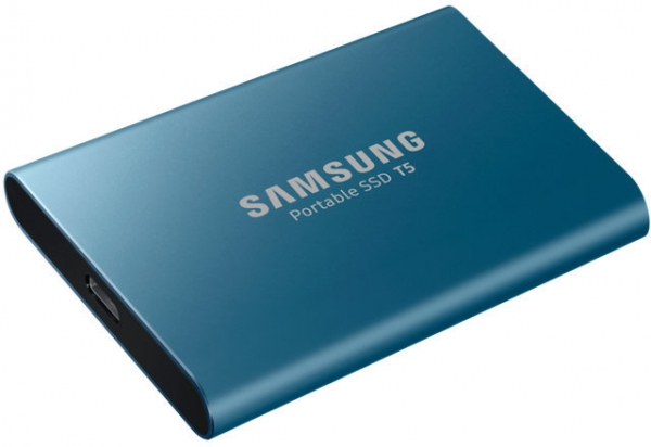 2TB SSD Samsung Portable T5 USB3.1 Gen2 Type-C black MU-PA2T0B/EU