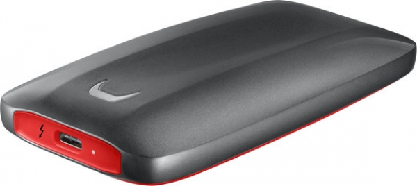 1TB SSD Samsung Portable X5 Thunderbolt 3 extern MU-PB1T0B/EU