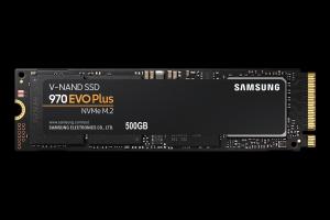 Samsung500GB SSD Samsung 970 EVO PLUS M.2 NVMe (MZ-V7S500BW) retail