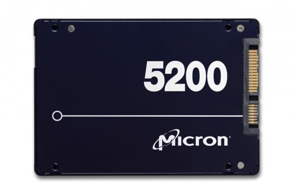 MTFDDAK1T9TDN-1AT1ZABYY, Micron 5200MAX 1920GB SATA 2.5inch TCG Disabled Enterprise Solid State Drive