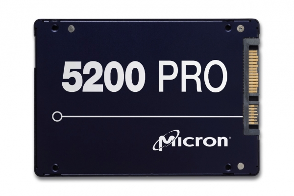 MTFDDAK3T8TDD-1AT1ZABYY, Micron 5200PRO 3.84TB SATA 2.5inch TCG Disabled Enterprise Solid State Drive