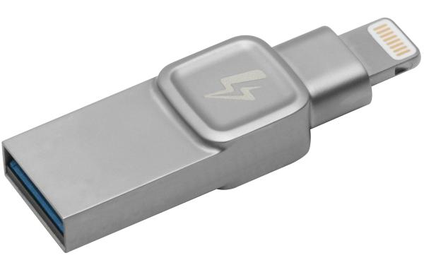 C-USB3L-SR64G-EN, 64GB Bolt, iPhone, iPad photo/video storage, lightning, USB 3.0
