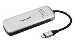 KingstonC-HUBC1-SR-EN, USB-C Hub, multiport adapter, docking station