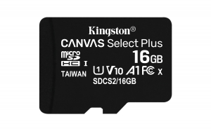 KingstonSDCS2/16GBSP microSDHC 16GB
