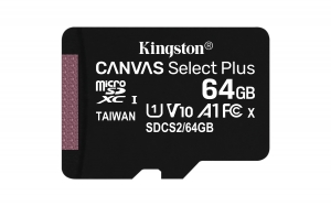 KingstonSDCS2/64GBSP microSDXC 64GB