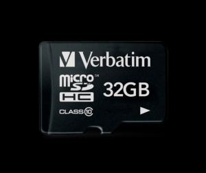 Verbatim44013, 32GB MICRO SDHC PREMIUM UHS-1 CLASS 10