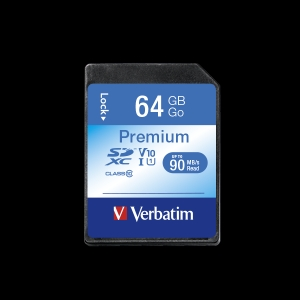 Verbatim44024, 64GB SECURE DIGITAL CARD XC / UHS1 (SDXC) CLASS 10