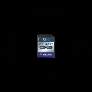 Verbatim47021, 32GB SECURE DIGITAL CARD SDHC PRO UHS-I CLASS 10 (READ 90MB/SEC,...