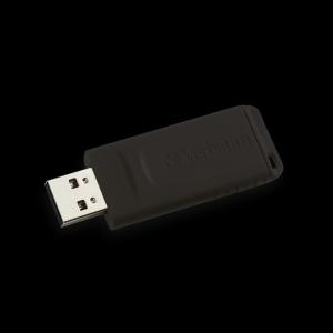 Verbatim49328, 128GB USB DRIVE 2.0 STORE N GO SLIDER BLACK