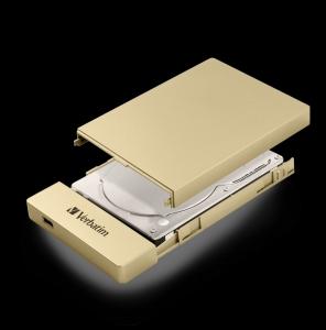 Verbatim53104, VERBATIM 6.35CM (2.5inch) STORE N GO ENCLOSURE KIT USB-C / USB...