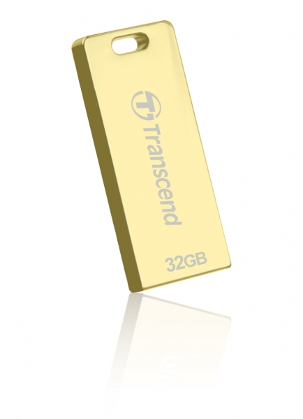 TS32GJFT3G, 32GB, USB2.0, Pen Drive, Gold