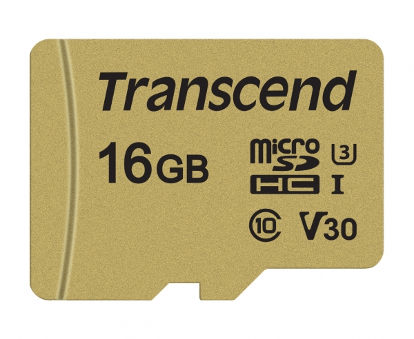 TS16GUSD500S microSD 16GB