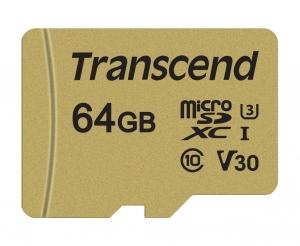 TranscendTS64GUSD500S microSD 64GB