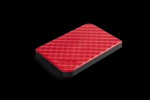 Verbatim53203, 1TB VERBATIM STORE N GO 2.5inch (6.35CM) GEN 2 USB 3.0 RED